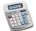 CL-1186 8 Digit Solar/Battery Desktop Calculator