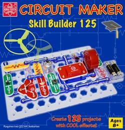 elenco snap circuits cm 125 circuit maker 125 skill builder project kit rh omnitronelectronics net Automated Circuit Maker Circuit Maker Basic 40