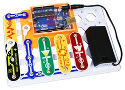 SNAPINO-Snap Circuits Open Source Coding Arduino Compatible Technology