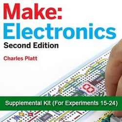CHANEY ELECTRONICS CM1003 MAKE ELECTRONICS-SUPPLEMENTAL-EXPERIMENTS-15-24-PART KIT