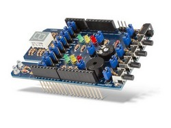 VELLEMAN KAEDU STEM PROJECT SHIELD FOR ARDUINO - SENSORS AND BOARD COMBO