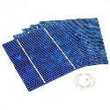 "G17929 Package of Five 4.5"" sq Silicon Solar Cells (0.5V 1Amp)"