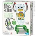 ToySmith 4611 Trash Robot-Recycling Kit - Green Creativity/ CASEPACK OF12
