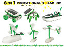 OWI-MSK610 CLASSPACK of 10 6 in1 Educational Solar Kits