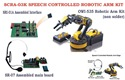 SCRA-02SK Speech Controlled OWI-535 Robotic Arm and Interface