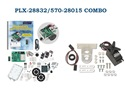 PARALLAX PLX-28832/570-28015 COMBO - Boe-Bot Robot Kit - USB Version & PING))) Mounting Bracket Kit