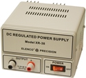 Elenco XR-38U  13.8VDC, 3A Regulated Power Supply Input 110 or 220 VAC