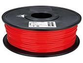 VELLEMAN PLA3R1 3 mm PLA Filament Color RED 1 kg for 3D Printers