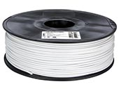 VELLEMAN PLA3W1 3 mm PLA Filament Color WHITE 1 kg for 3D Printers