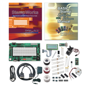 PLX-27297 parallax StampWorks Kit - Educational (non soldering programmable kit)
