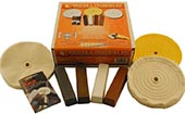 ENKAY 156-6K 6 Inch Buffing & Polishing Kit for Buffers and Grinders