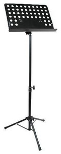 "Stellar Labs 555-11700 Heavy Duty Portable Music Stand 19"" x 13.5"" 2"" Lower Lip"
