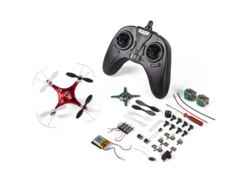 K/RCQC2 DIY MINI QUADCOPTER DRONE KIT (SOLDERING REQUIRED)