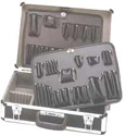 TB2000DS PROFESSIONAL TOOL/ATTACHE CASE (SILVER EXTERIOR)